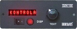Alfanumerický LED ovládací panel pre displeje